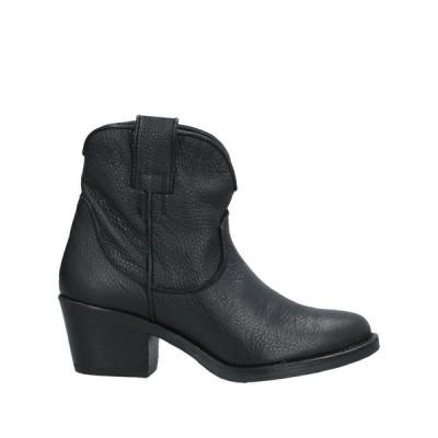 A&M COLLECTION ショートブーツ ファッション  レディースファッション  レディースシューズ  ブーツ  その他ブーツ ブラック