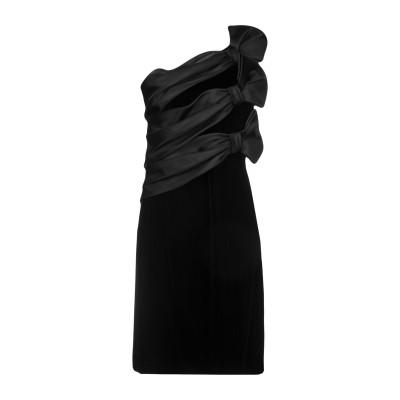 アルマーニ コレッツィオーニ ARMANI COLLEZIONI ミニワンピース&ドレス ブラック 44 レーヨン 65% / キュプラ 35% /