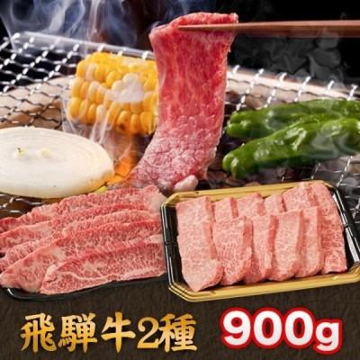 飛騨牛 焼肉 A5 A4 ランク 牛肉 焼き肉用 ギフト 合計 900g 特選カルビ400g カルビ500g