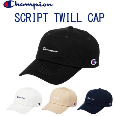 チャンピオン「Champion」スクリプトツイルキャップ 野球帽 メンズ レディース アメカジ スポーツブランド 181-019a