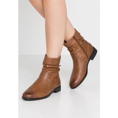アンナフィールド レディース 靴 シューズ Classic ankle boots - cognac