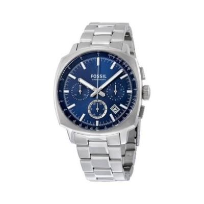 腕時計 フォッシルFossil メンズ Haywood クロノグラフ スチール ドレス 腕時計 44ミリ CH2983 185