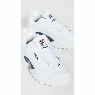 フィラ Fila メンズ スニーカー シューズ・靴 Disruptor II LAB Sneakers White/Navy/Red