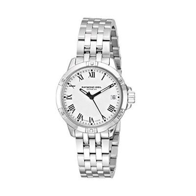 Raymond Weil Women's Swiss-Quartz Watch with Stainless-Steel Strap, Silver, 18 (Model: 5960-ST-00300) 並行輸入品