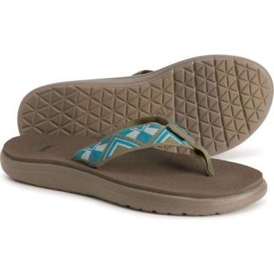 テバ Teva レディース ビーチサンダル シューズ・靴 voya flip-flops Cayambe Sea Foam