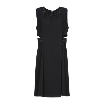 リュー ジョー LIU •JO ミニワンピース&ドレス ブラック 46 ポリエステル 100% ミニワンピース&ドレス
