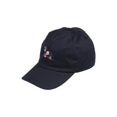 HARMONT&BLAINE 帽子 ダークブルー 60 コットン 100% 帽子