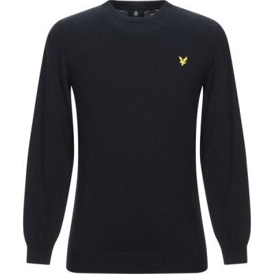 ライル アンド スコット LYLE & SCOTT メンズ ニット・セーター トップス sweater Black