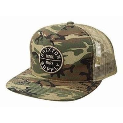 ブリクストン メンズ ハット キャップ 帽子 Oath III Mesh Cap