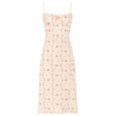 ブロック コレクション Brock Collection レディース ワンピース ビスチェ ワンピース・ドレス Osanna floral cotton bustier dress Open