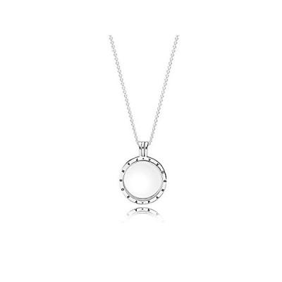 Pandora Women's Floating Locket, Medium, Sapphire Crystal Glass Item #59052