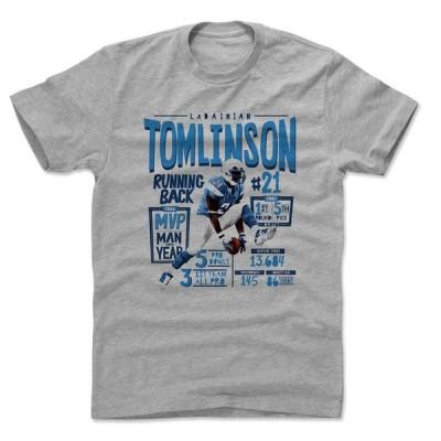 NFL サンディエゴ・チャージャーズ Tシャツ ラダニアン・トムリンソン Position L T-Shirt 500Level ヘザーグレー