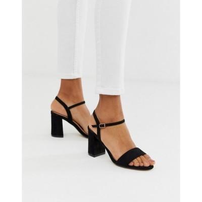 オフィス レディース サンダル シューズ OFFICE modesty block heel sandals