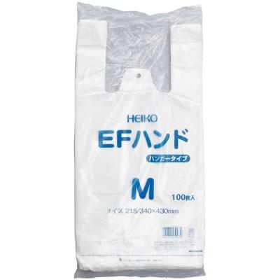 レジ袋(乳白) ●規格:M●サイズ(タテ×ヨコ×マチ):430×215×125●入数:100枚