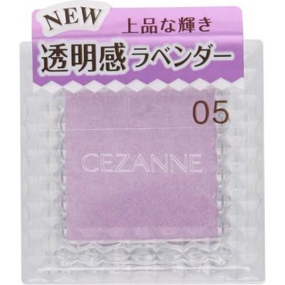 セザンヌ化粧品 シングルカラ-アイシャドウ 05 ピュアラベンダー
