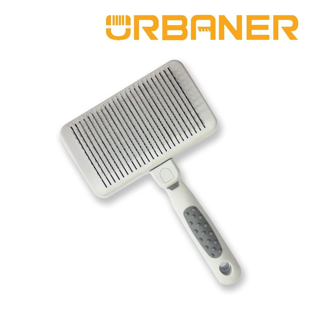 URBANER奧本台灣製 CT-32 寵物伸縮清毛針梳 去除廢毛狗/貓/針梳/清毛梳/寵物梳子 梳子 奧本電剪