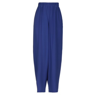 アスペジ ASPESI パンツ ブルー S シルク 100% パンツ
