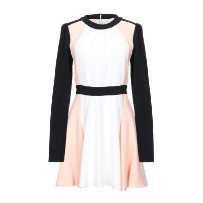 ジャンバ GIAMBA ミニワンピース&ドレス ホワイト S レーヨン 100% / シルク ミニワンピース&ドレス
