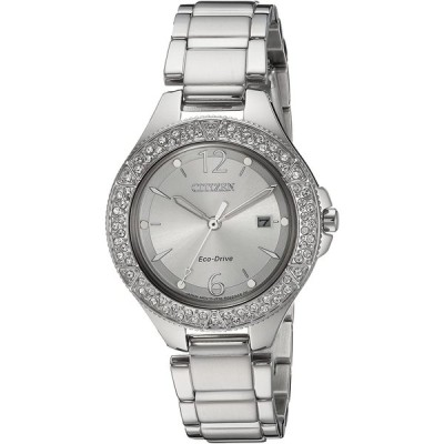 Citizen Women's 'Eco-Drive' Quartz Stainless Steel Casual Watch, Color
