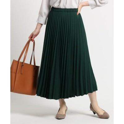 Reflect / リフレクト 【STORY10月号掲載】マットサテンプリーツスカート