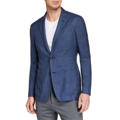 エルメネジルド・ゼニア メンズ ジャケット・ブルゾン アウター Men's Heathered Cashmere-Blend Two-Button Blazer