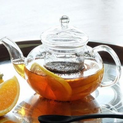 ガラス食器 シャスタ ティーポット 耐熱ガラス 茶こし付き