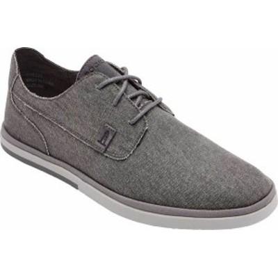 ロックポート メンズ スニーカー シューズ Men's Rockport Austyn Plain Toe Oxford Steel Grey Canvas
