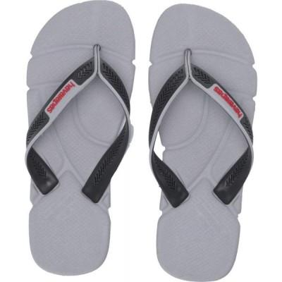 ハワイアナス Havaianas メンズ ビーチサンダル シューズ・靴 Power Flip Flops Ice Grey