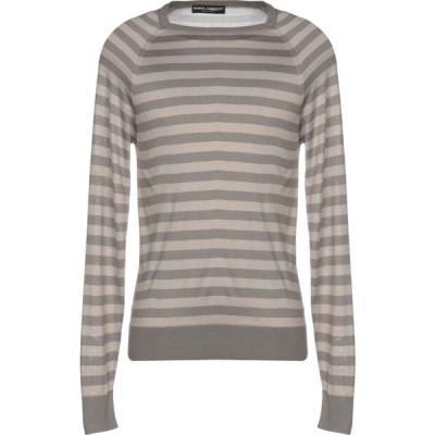 ドルチェ&ガッバーナ DOLCE & GABBANA メンズ ニット・セーター トップス sweater Dove grey