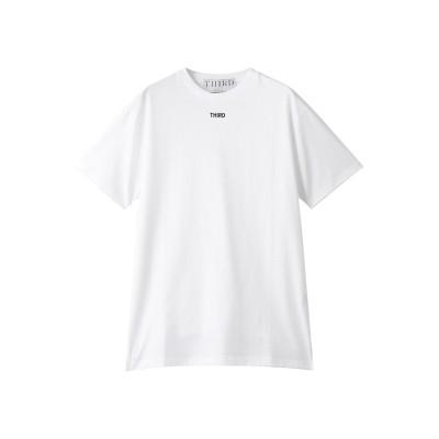 THIRD MAGAZINE サード マガジン THIRD MAGAZINEロゴTシャツ レディース ホワイト F