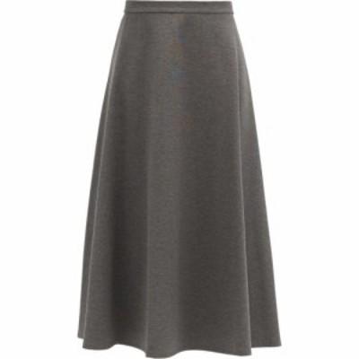 マックスマーラ Max Mara レディース ひざ丈スカート スカート Ostile skirt Charcoal grey