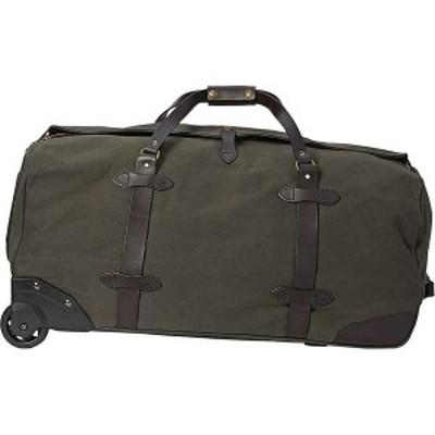 フィルソン メンズ スーツケース バッグ Filson Large Rolling Duffle Bag Otter Green