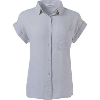 マウンテンカーキス Mountain Khakis レディース ブラウス・シャツ トップス Oasis SS Shirt Smoke