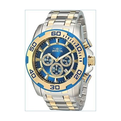 Invicta Men's Pro Diver Quartz Watch with Stainless-Steel Strap, Silver, 26 (Model: 26296)並行輸入品