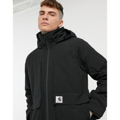 カーハート Carhartt WIP メンズ ジャケット アウター bode lined jacket in black ブラック