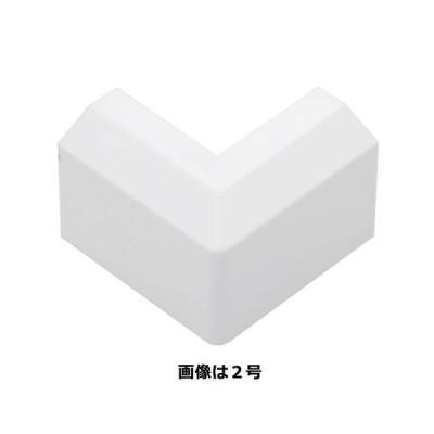 OHM モール用パーツ 出隅 0号 白 2個入/DZ-MD0/W