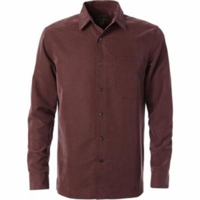 ロイヤルロビンズ Royal Robbins メンズ シャツ トップス Desert Pucker Dry Long Sleeve Shirt Fudge