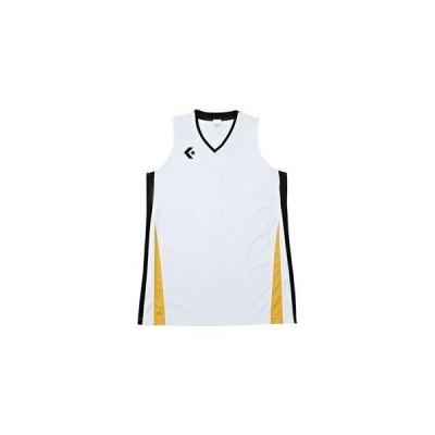 コンバース 7F_ウィメンズゲームシャツ (CB381701) 色 : ホワイト/ブラック サイズ : L