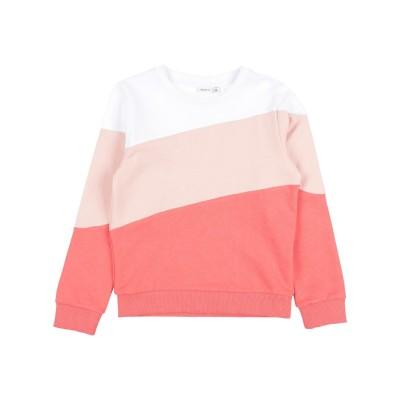 NAME IT® スウェットシャツ コーラル 7 コットン 100% / リサイクルポリエステル / ポリエステル スウェットシャツ