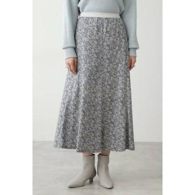 HUMAN WOMAN / ヒューマンウーマン ◆フラワープリントスカート