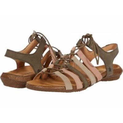 El Naturalista エルナチュラリスタ レディース 女性用 シューズ 靴 サンダル Wakataua N5069 Kaki Mixed【送料無料】