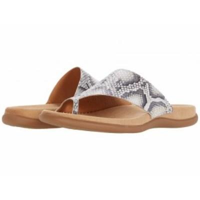 Gabor ガボール レディース 女性用 シューズ 靴 サンダル Gabor 43.700 Leinen【送料無料】