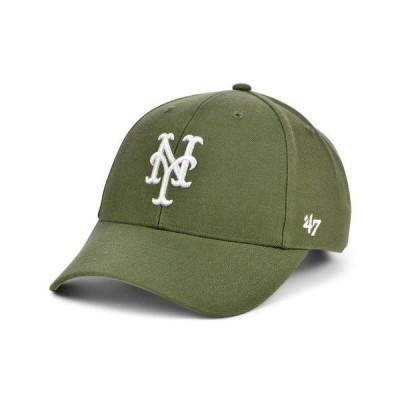 47ブランド レディース 帽子 アクセサリー New York Mets Olive MVP Cap