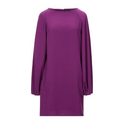 1-ONE ミニワンピース&ドレス モーブ 40 ポリエステル 100% ミニワンピース&ドレス