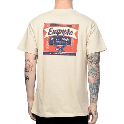 エンパイア EMPYRE メンズ Tシャツ トップス Empyre Street Style Sand T-Shirt Natural