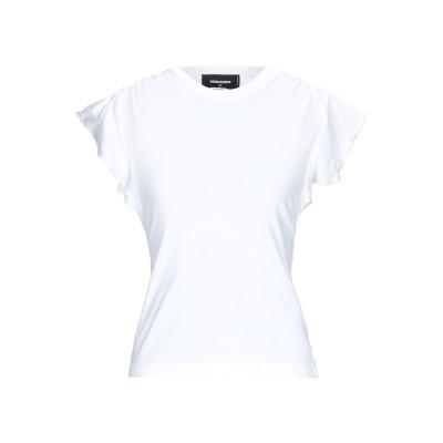 ディースクエアード DSQUARED2 T シャツ ホワイト XS コットン 100% T シャツ