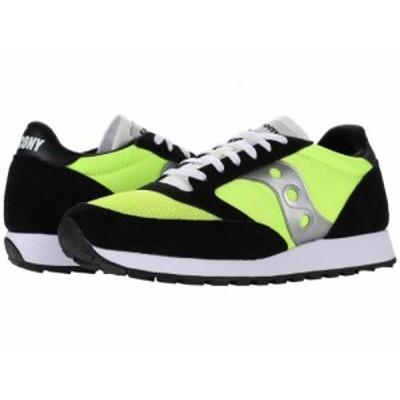 Saucony Originals サッカニー メンズ 男性用 シューズ 靴 スニーカー 運動靴 Jazz Original Vintage Neon/Black/Silver【送料無料】