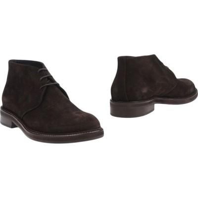 マルクエデルソン MARC EDELSON メンズ ブーツ シューズ・靴 boots Dark brown