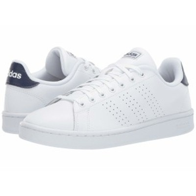 アディダス メンズ スニーカー シューズ Advantage Footwear White/Footwear White/Dark Blue
