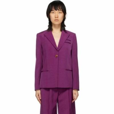 ネリー パートウ Partow レディース スーツ・ジャケット アウター Purple Easton Blazer Orchid